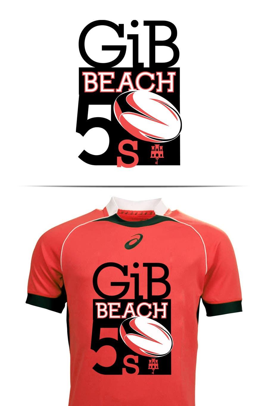Kilpailutyö #21 kilpailussa Design a Logo for Beach Rugby - Use your imagination!