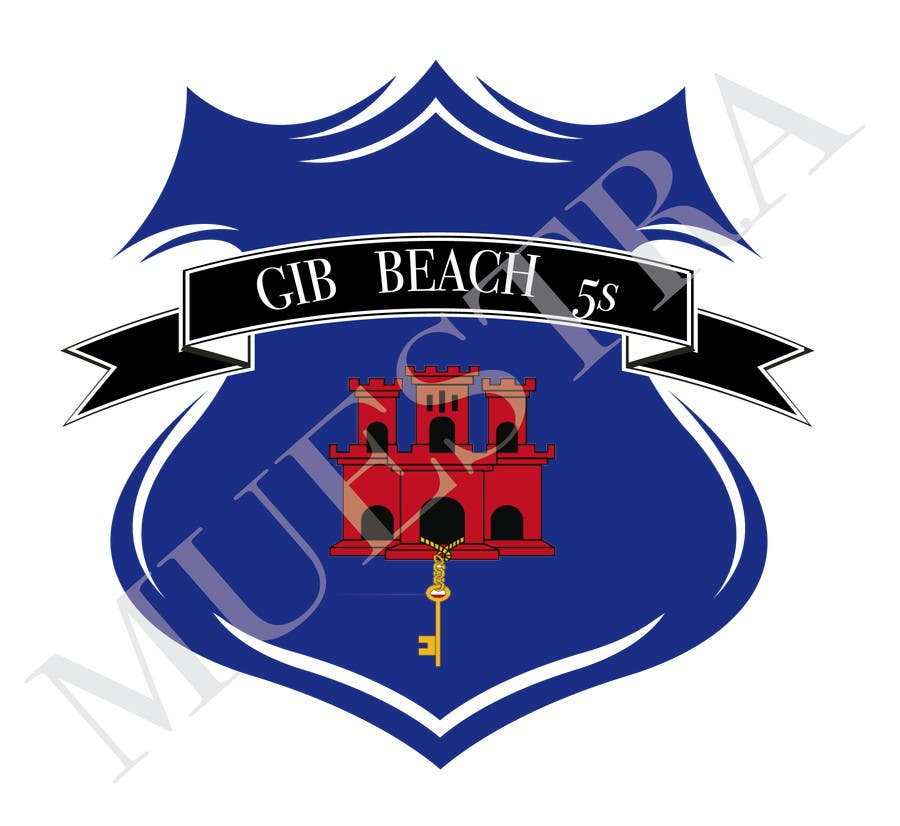 Kilpailutyö #4 kilpailussa Design a Logo for Beach Rugby - Use your imagination!