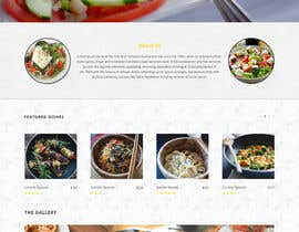 #12 untuk Design for homepage Greek Traditional Tavern oleh Ankur0312