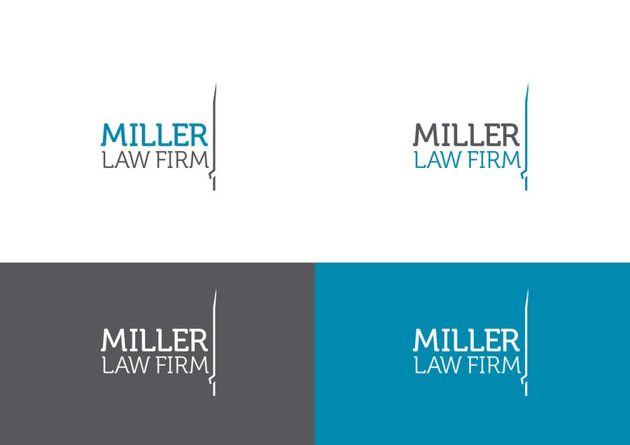 #40 for Logo Design for Miller Law Firm by humphreysmartin