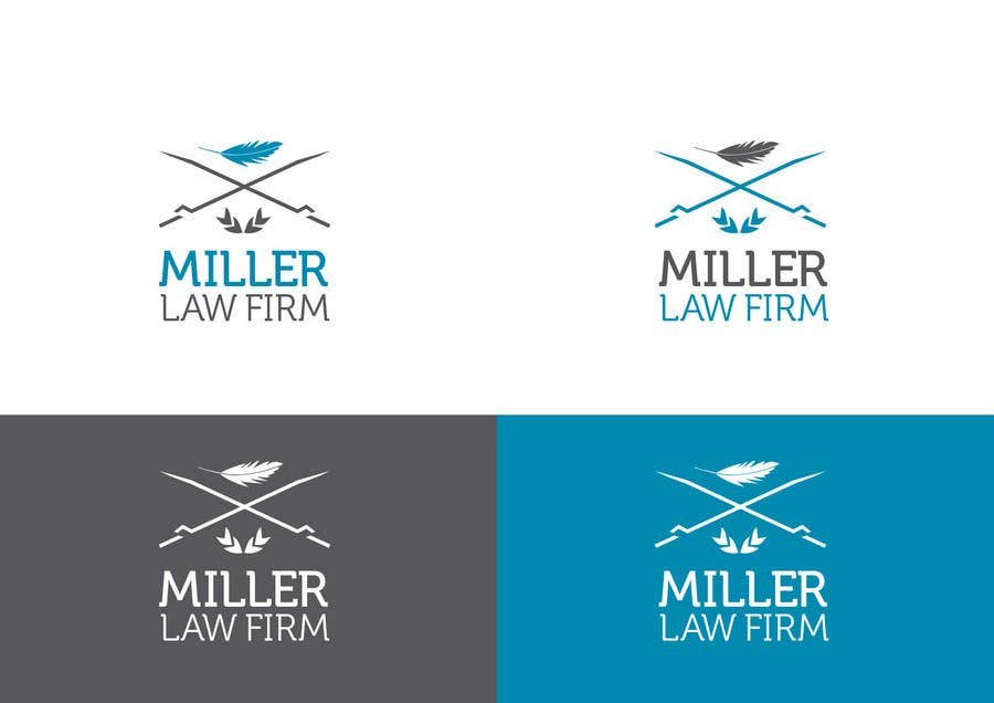 #49 for Logo Design for Miller Law Firm by humphreysmartin