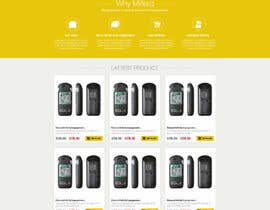 #24 pentru Design a Website Mockup for premium German electronics brand de către nikil02an