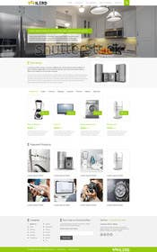 #11 for Design a Website Mockup for premium German electronics brand by kreativeminds