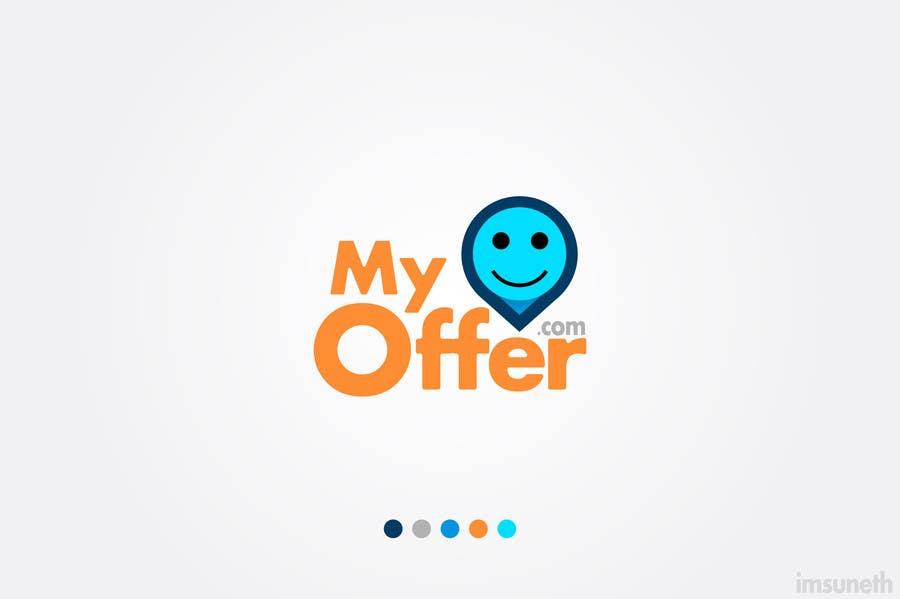 Konkurrenceindlæg #                                        48                                      for                                         Design a Logo for website :www.MYOFFER.LK
