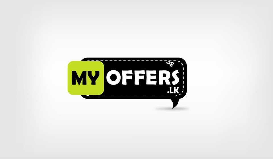 Konkurrenceindlæg #                                        35                                      for                                         Design a Logo for website :www.MYOFFER.LK