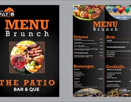 #12 for 2 Menu Designs for 1 Restaurant by HRmahad