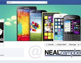 moni3321 tarafından Design a cover for Facebook,YouTube and twitter for UnlockPanda için no 5