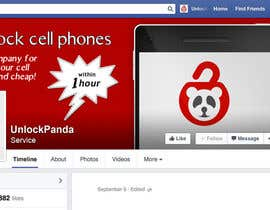 #17 for Design a cover for Facebook,YouTube and twitter for UnlockPanda af webcolorsgr