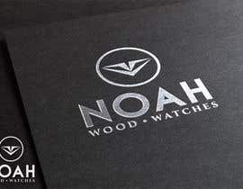 #153 para Redesign a Logo for wood watch company: NOAH por rockbluesing