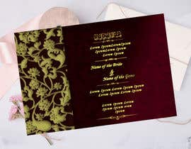 #45 cho Design a Wedding Invitiation Card bởi Noriahadith09