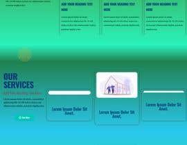 #103 for 1 page website design / redesign af freelanceralasad