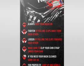 nº 31 pour PAINTBALL RULES Banner Layout (Tough, Diamondplate, grunge, etc) par UmarMuharrib