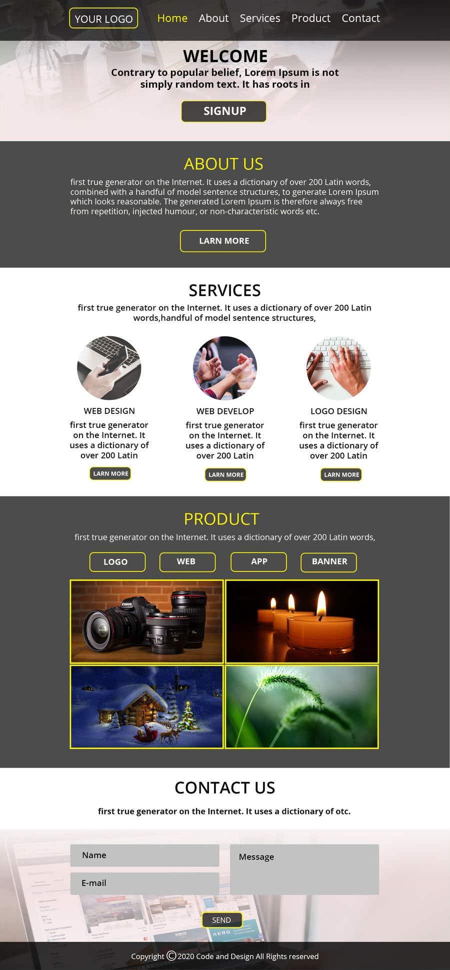 Penyertaan Peraduan #                                        27                                      untuk                                         UI/UX for a Web Platform