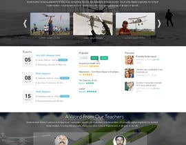 #36 dla Design a FUN and AWESOME Aviation Website Design for Flight Club przez graphicethic