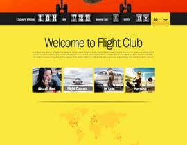 #40 dla Design a FUN and AWESOME Aviation Website Design for Flight Club przez yoyojorjor