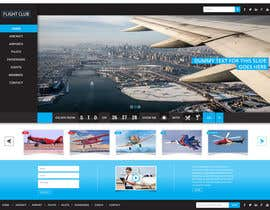 #33 för Design a FUN and AWESOME Aviation Website Design for Flight Club av himel006