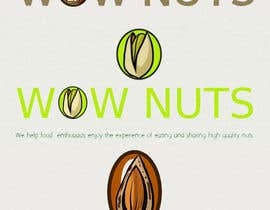 #258 for Design a Logo for WOW Nuts by rafaEL1s