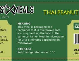 Nro 79 kilpailuun Design a Food Label käyttäjältä UmarMuharrib