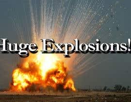 #51 untuk Create a Youtube thumbnail photo ----- for a youtube video (Huge explosions) oleh roshidahammed