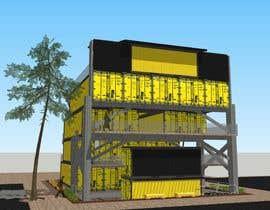visibilizar tarafından multi level small building of restaurants için no 107