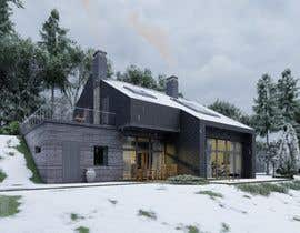 #10 for Eco-home concept drawings for new build on a sloping site by vadimmezdrin