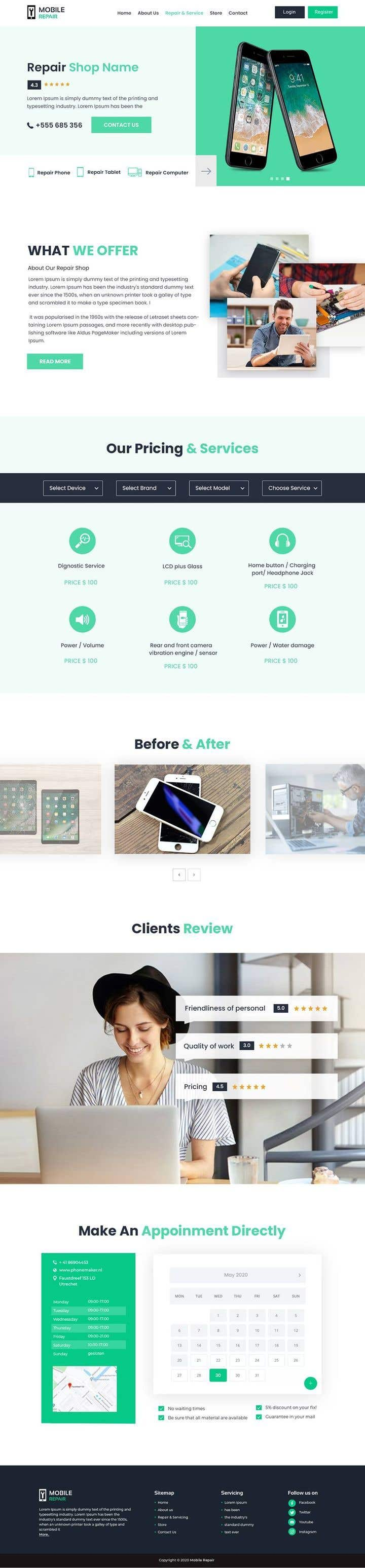 Contest Entry #                                        19                                      for                                         UX design 5 pages