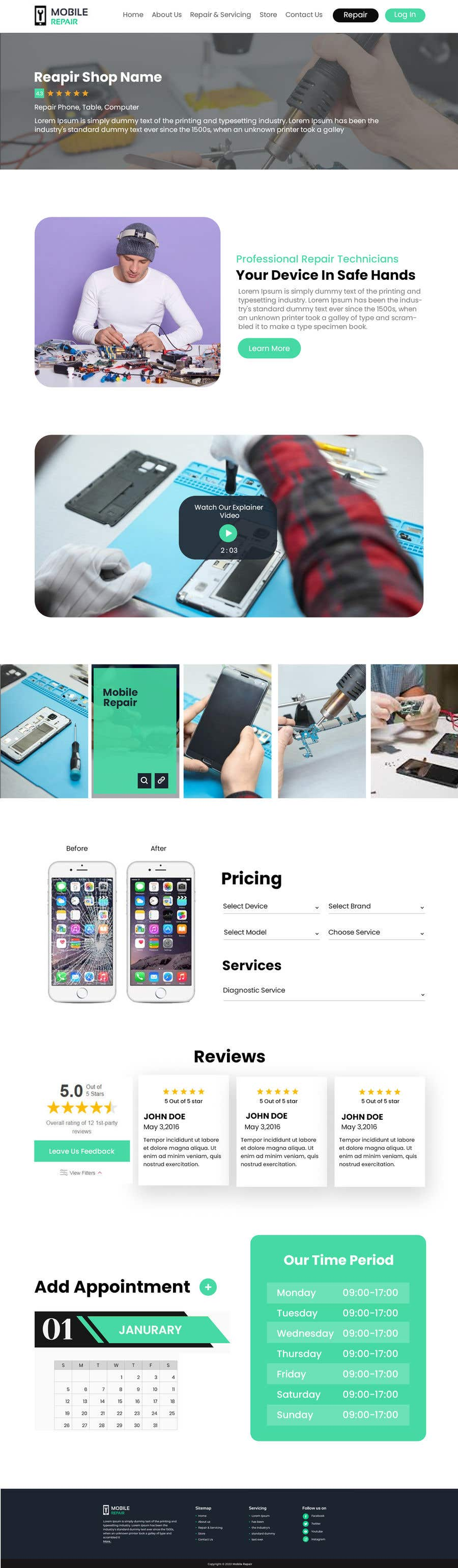 Contest Entry #                                        22                                      for                                         UX design 5 pages