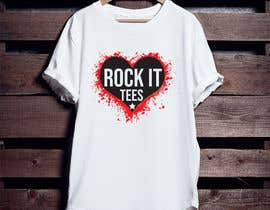 #232 for Rock It Tees logo for T-shirt company by rashedul1012