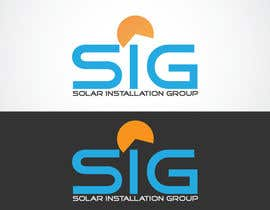 #58 untuk Design a Logo for SIG - Solar Installation Group oleh LOGOMARKET35