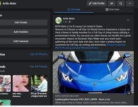Nro 30 kilpailuun Social Media Sharing käyttäjältä arifaakter123