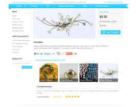 #29 for Website Design for BeadCrafty.com by infocuspro