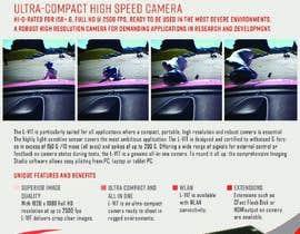 Nro 92 kilpailuun New leaflet/datasheet/brochure design for our products käyttäjältä miguegomez