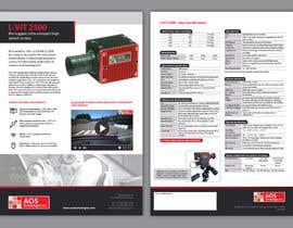 Nro 103 kilpailuun New leaflet/datasheet/brochure design for our products käyttäjältä BlackSakura
