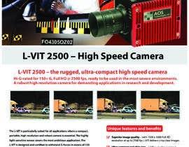 Nro 57 kilpailuun New leaflet/datasheet/brochure design for our products käyttäjältä mamatapatel380