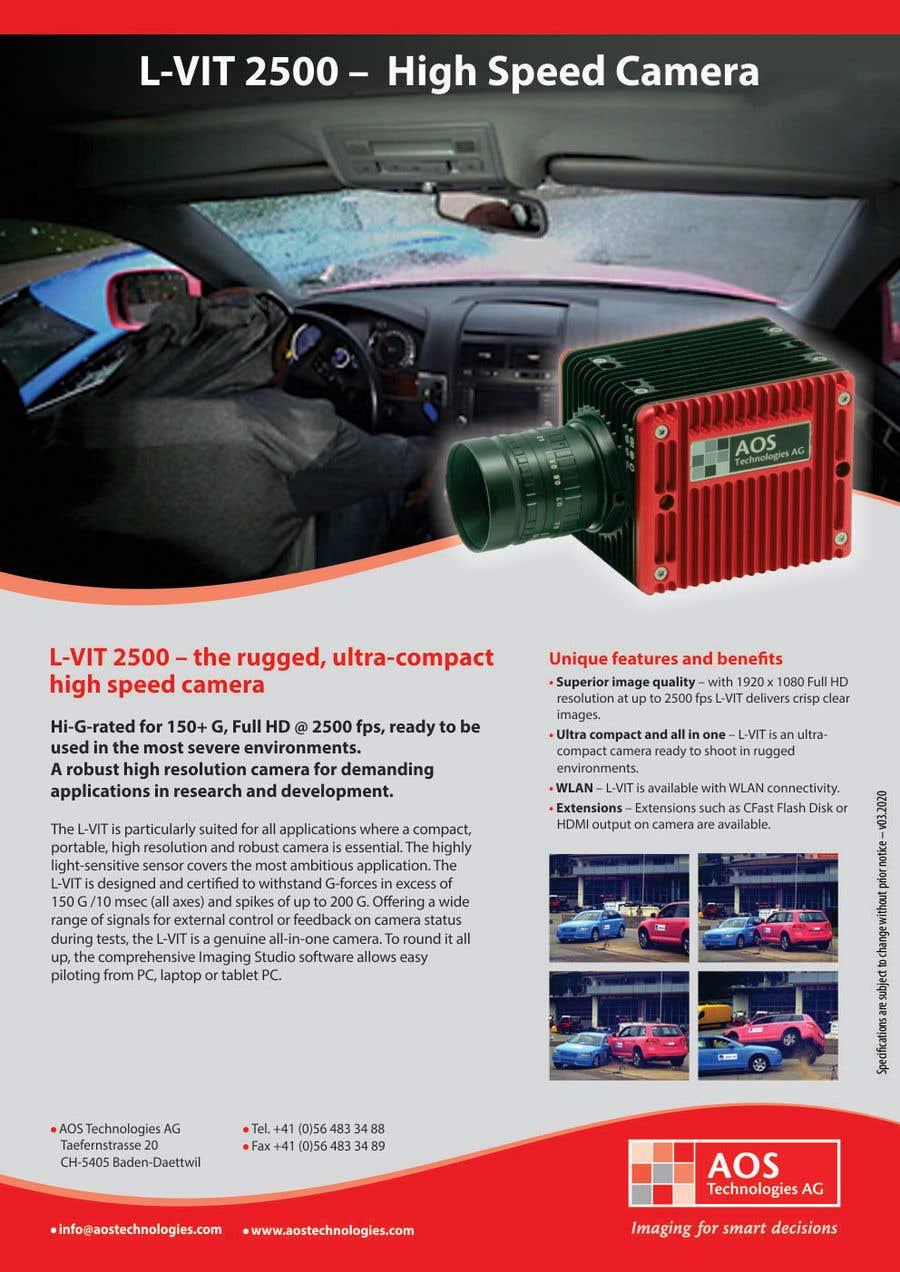 Kilpailutyö #                                        114                                      kilpailussa                                         New leaflet/datasheet/brochure design for our products