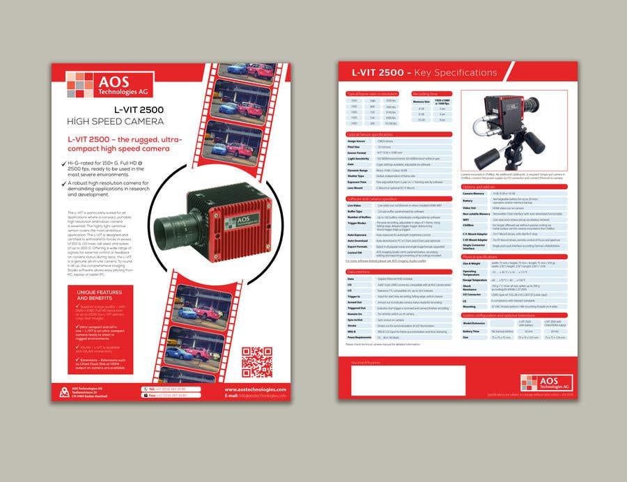 Kilpailutyö #                                        70                                      kilpailussa                                         New leaflet/datasheet/brochure design for our products