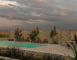 #50 for Landscape Design around an existing pool with Dinning, BBQ , shower and Lounge areas af nastaziaspy