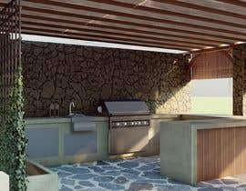 #56 for Landscape Design around an existing pool with Dinning, BBQ , shower and Lounge areas af rohit618pathak