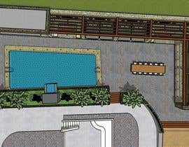 #24 for Landscape Design around an existing pool with Dinning, BBQ , shower and Lounge areas af euarchitecturest