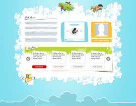 doomshellsl tarafından Design a Website Mockup for Kids Social Media site için no 9