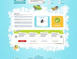 #12 para Design a Website Mockup for Kids Social Media site por doomshellsl