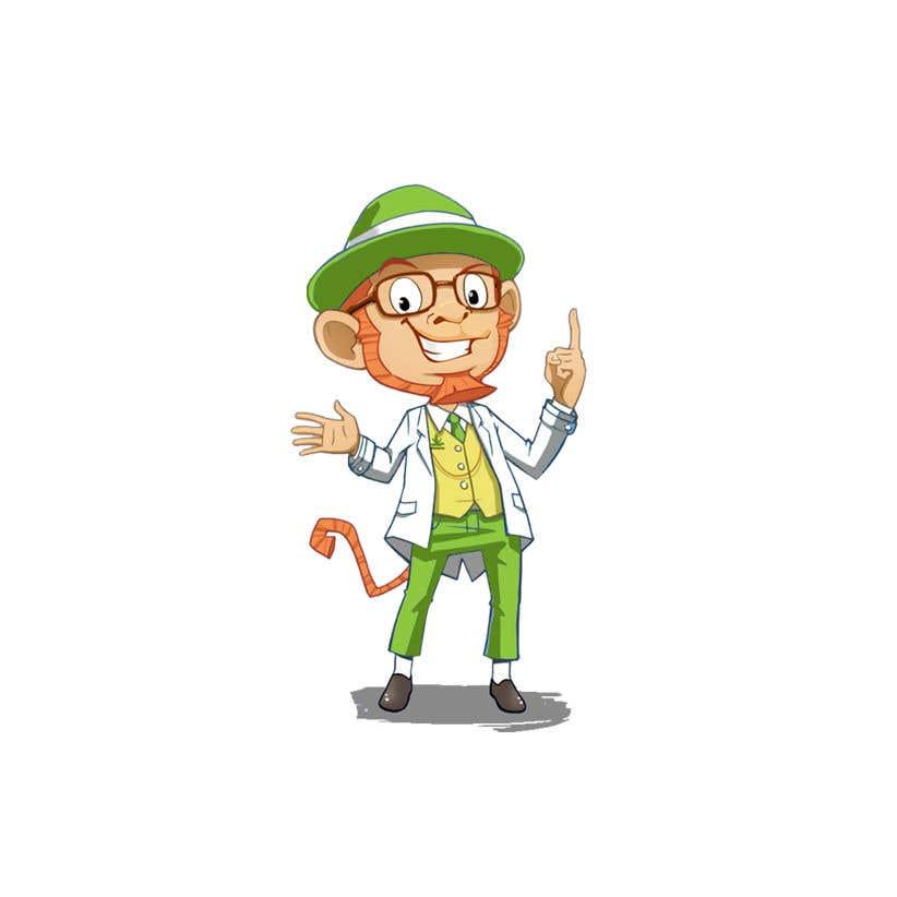 Konkurrenceindlæg #                                        46                                      for                                         Design cartoon character named, George T Hemp.