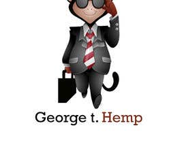 #47 for Design cartoon character named, George T Hemp. af bilkisashraf