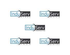 nº 1813 pour Logo Design InduServ par Nuruzzaman835
