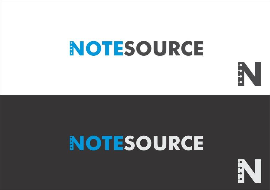 Kilpailutyö #25 kilpailussa Design a Logo for NoteSource