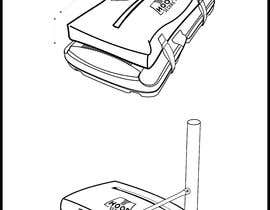 #22 untuk Technical drawing for a Product oleh Volpi97