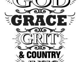 #130 for Collection God Grace & Grit t shirt design by Soikot017