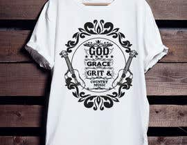 #155 for Collection God Grace & Grit t shirt design by sompa577