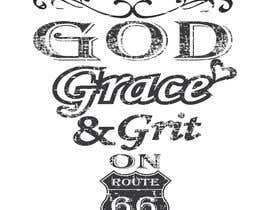 #172 for Collection God Grace & Grit t shirt design by kuyousuf