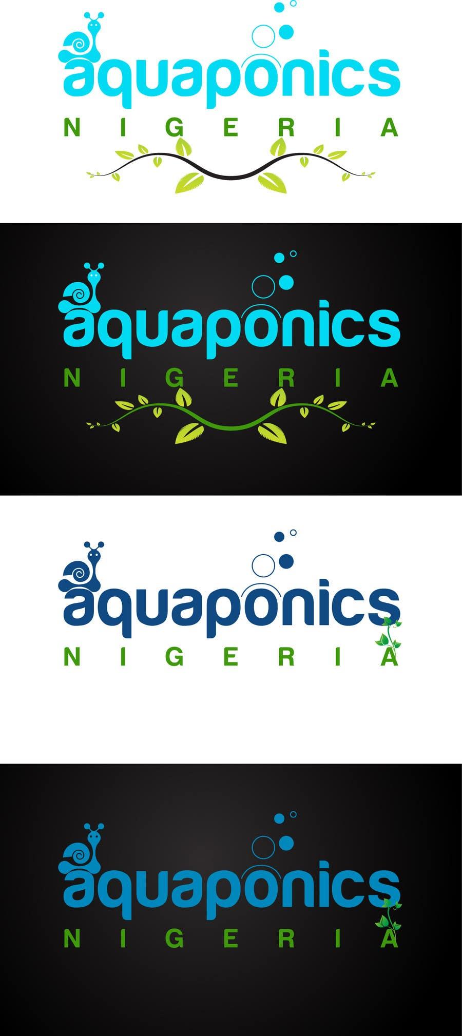 Contest Entry #36 for Design a Logo for www.AquaponicsNigeria.com